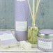 White Lavender (Polka Dot Collection) Tin Candle - Image 2