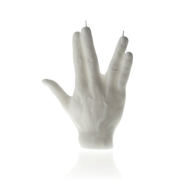 White Hand SPCK Candle