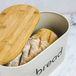 Kitchen Bread Bin with Bamboo Chopping Board Lid | M&W - Image 6