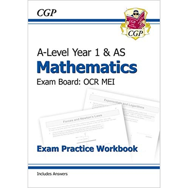 New A-Level Maths for OCR MEI: Year 1 & AS Exam Practice Workbook  Paperback / softback 2017