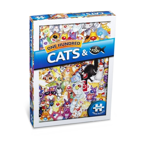 Cat Toy Fish Game : Cats a fish piece jigsaw games