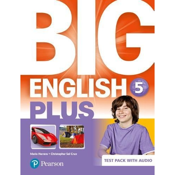 Big English Plus BrE 5 Test Book and Audio Pack  2018 Mixed media product