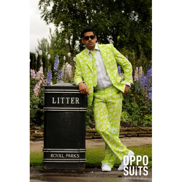 Opposuit Robbie Flower UK Size 38 One Colour