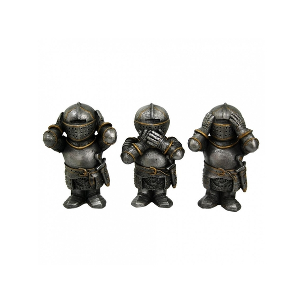 Three Wise Knights Figurines