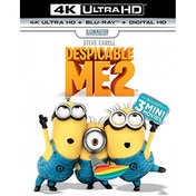 Despicable Me 2 4K UHD + Blu-ray + Digital HD