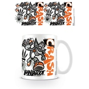 Crash Bandicoot - Stencil Mug