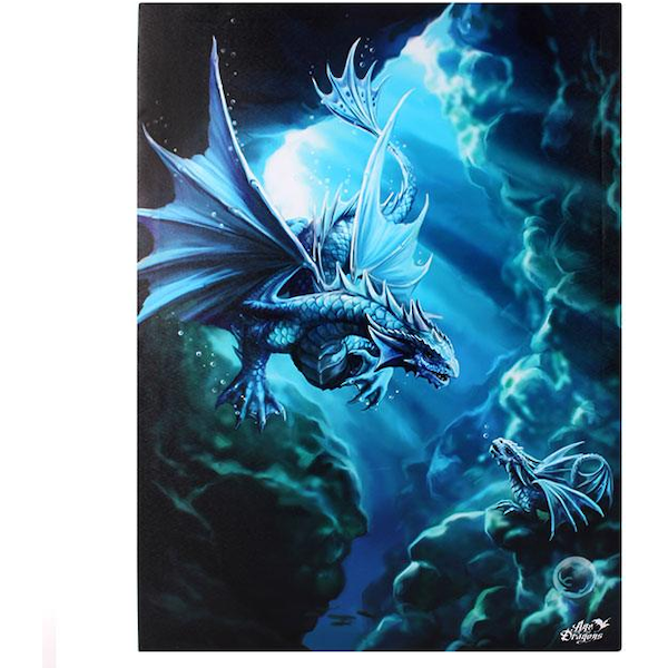 Small Water Dragon Canvas Picture by Anne Stokes