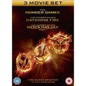 Hunger Games: Triple Movie Pack DVD