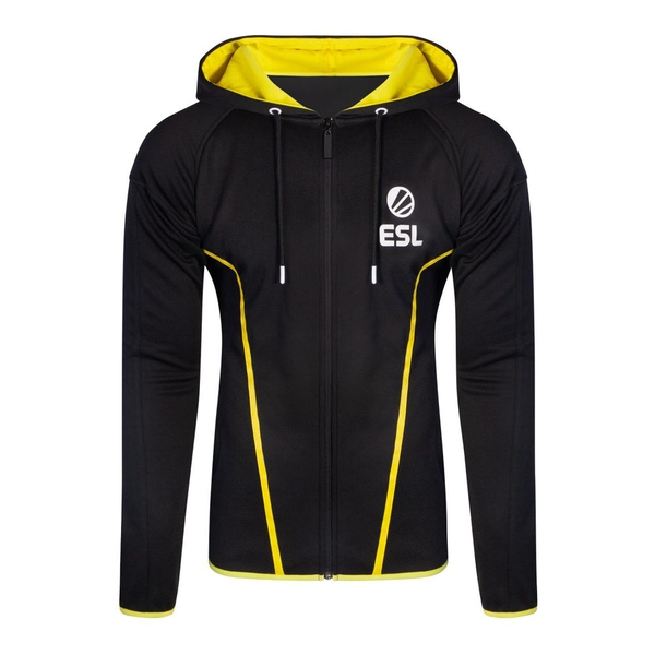 ESL - Logo Men's XX-Large Hoodie - Black/Yellow
