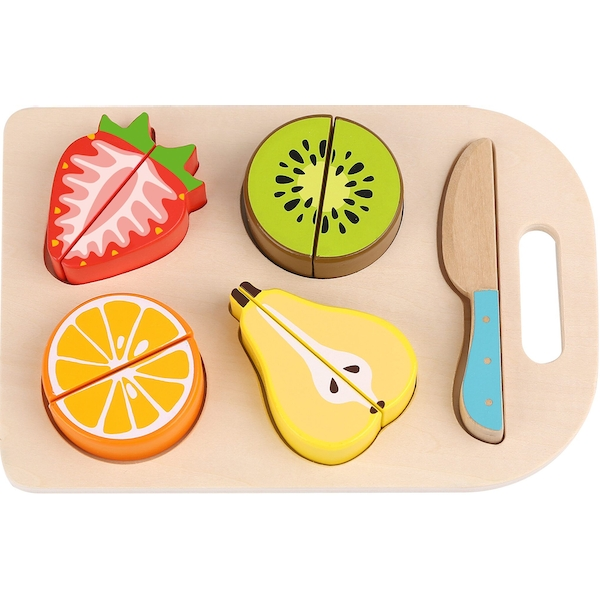 Cutting Fruits Wooden Playset