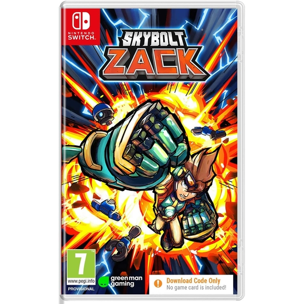 Skybolt Zack Nintendo Switch Game [Code in a Box]
