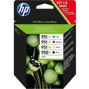 HP C2P43AE (950XL/951XL) Ink cartridge multi pack, 2300 1500 pg, Pack qty 4