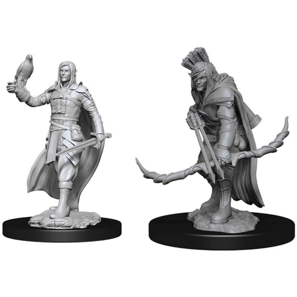 D&D Nolzur's Marvelous Unpainted Miniatures (W13) Elf Ranger Male