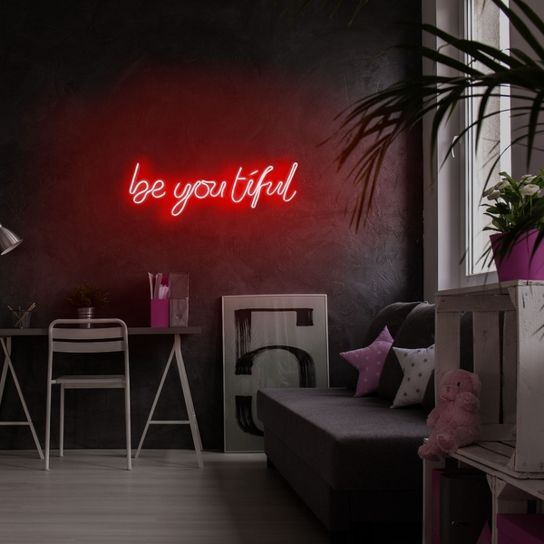 Be you tiful - Red Red Wall Lamp