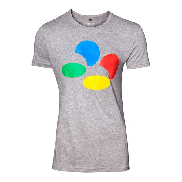 c852e15c0a17 Hey! Stay with us... Nintendo - Controller Button Men's Small T-Shirt ...