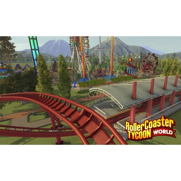 Roller Coaster Tycoon World PC CD Key Download for Steam