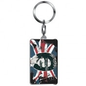 Sex Pistols God Save The Queen Thick Metal Keyring