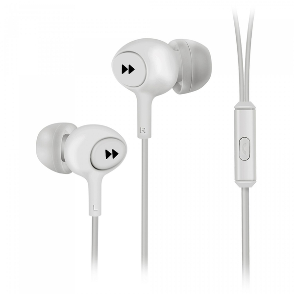 Groov-e GVEB13WE Mobile Buds Earphones with Remote Mic - White