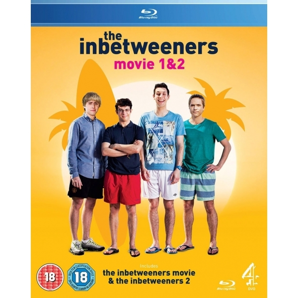 Inbetweeners Movie 1 & 2 Blu-ray