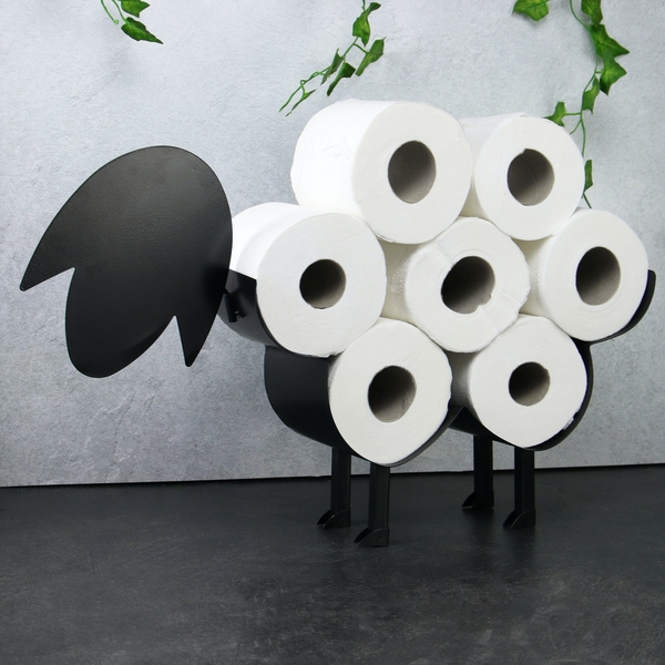 Pukkr Sheep Toilet Roll Holder