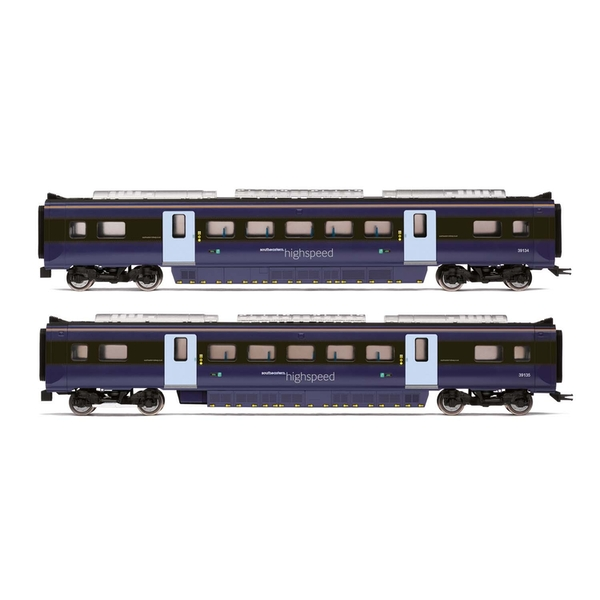 Hornby South Eastern Class 395 Highspeed Train 2-car Coach Pack MSO 39134 and MSO 39135 Era 11 Model Train