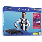 PlayStation 4 (500GB) Black Console with Fifa 19 Ultimate Team Icons and Rare Player Pack