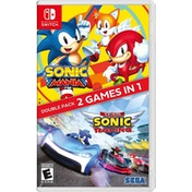 Sonic Mania + Team Sonic Racing Double Pack Nintendo Switch Game
