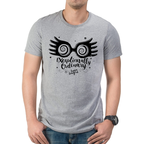 Harry Potter - Exceptionally Ordinary Men's X-Large T-shirt - Grey