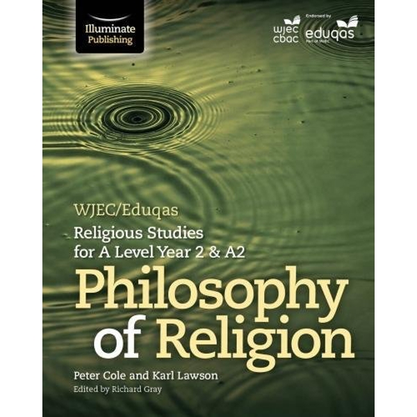 WJEC/Eduqas Religious Studies for A Level Year 2 & A2 - Philosophy of Religion  Paperback / softback 2018