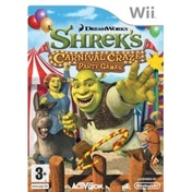 Ex-Display Shreks Carnival Craze Game Wii Used - Like New