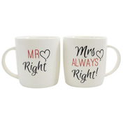 Box of 2 Mr & Mrs Mugs