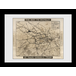 Transport For London Way To Wembley 60 x 80 Framed Collector Print - Image 2