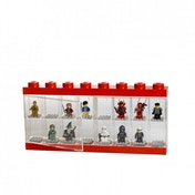 LEGO Large Minifigure Case Red