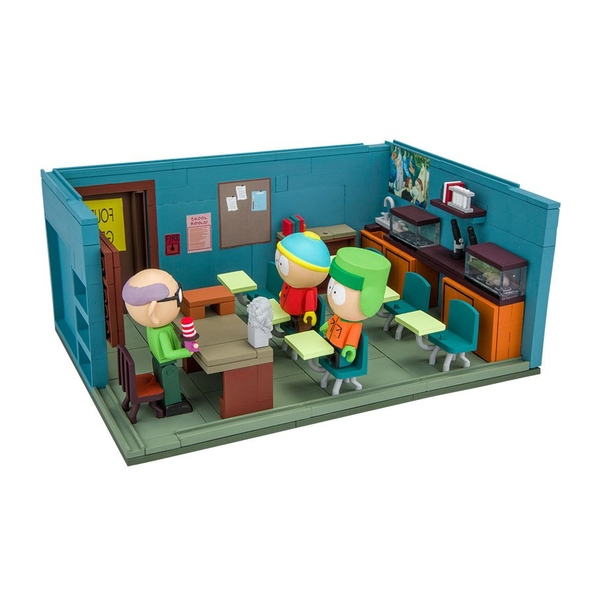 South Park Large Construction Set Mr. Garrison's Classroom - Image 1