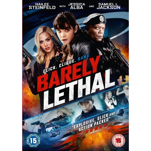 Barely Lethal DVD