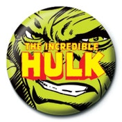 Marvel - Incredible Hulk Badge