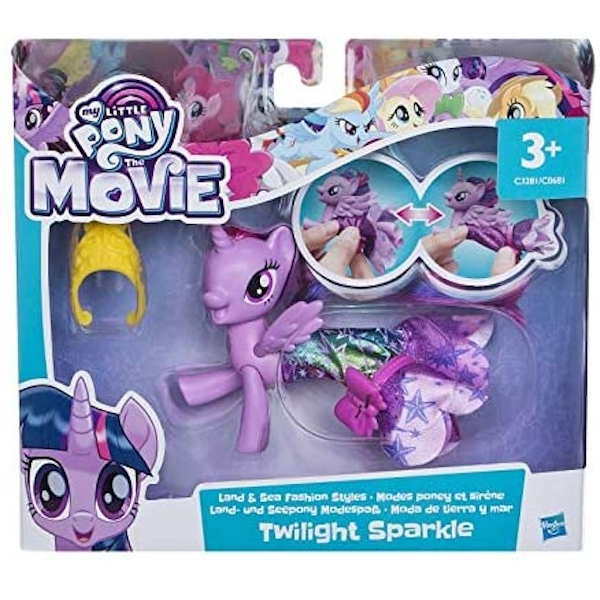 My Little Pony - The Movie Princess Twilight Sparkle Land & Sea Fashion Playset