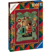 Harry Potter at Home with the Weasly Family Jigsaw Puzzle - 1000 Pieces