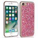 Caseflex iPhone 7 Tinfoil Soft Case - Pink