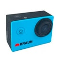 Braun Photo Technik Action Cam Paxiyoung, Blue
