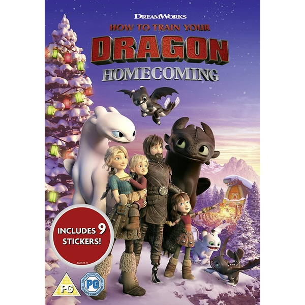 How To Train Your Dragon: Homecoming DVD