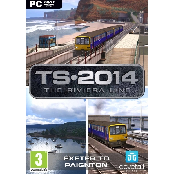 Train Simulator 2014 The Riviera Line PC Game
