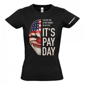 PAYDAY 2 Women's Dallas Mask Large T-Shirt, Black