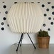 Table Lamp with Paper Shade - Image 6