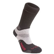 Bridgedale Men's Wool Fusion Trekker Socks Black UK Size 9-11.5