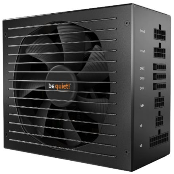 Be Quiet! 650W Straight Power 11 PSU, Fully Modular, Fluid Dynamic Fan, SLI/XFire, 80  Gold UK Plug
