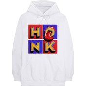 The Rolling Stones - Honk Album Men's Large Pullover Hoodie - White
