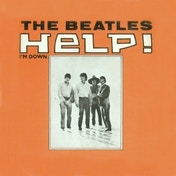 Single Coaster - The Beatles (HELP! Orange)