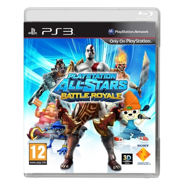 Playstation All-Stars Battle Royale Game PS3