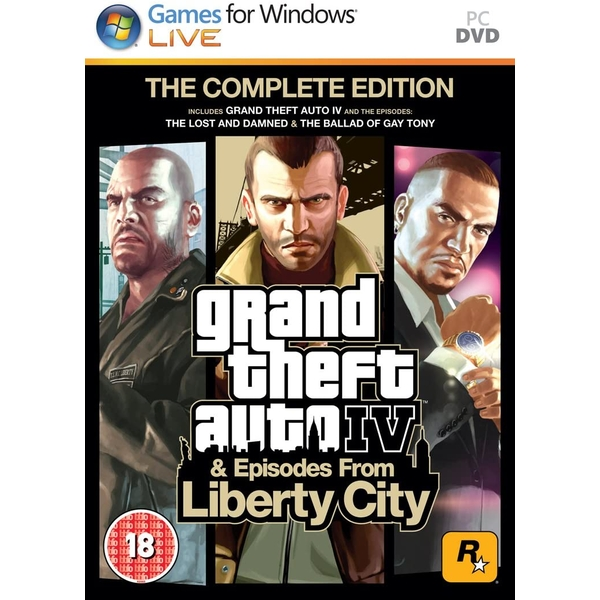 Grand Theft Auto IV 4 GTA Complete Edition Game PC [Used - Good]